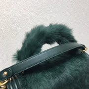 Rabbit Fur Boy Bag