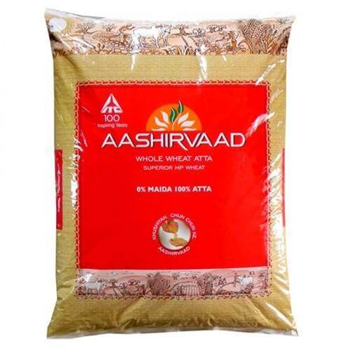Atta Aashirvaad (Indian Pack)