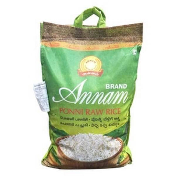 Annam Ponni Raw Rice