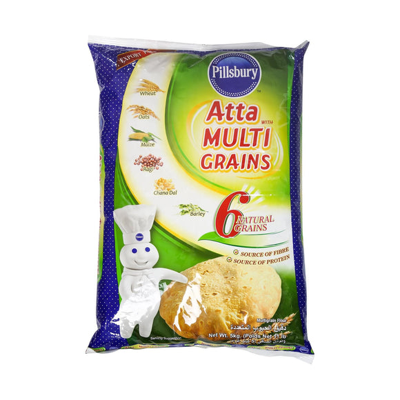 Pillsbury Multigrain Atta (Export Pack - 6 Grains)
