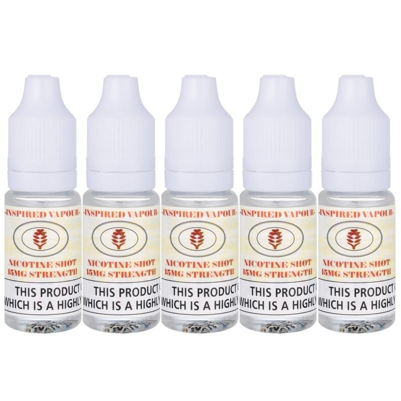 5 x Nic Shots Bundle by Inspired Vapour