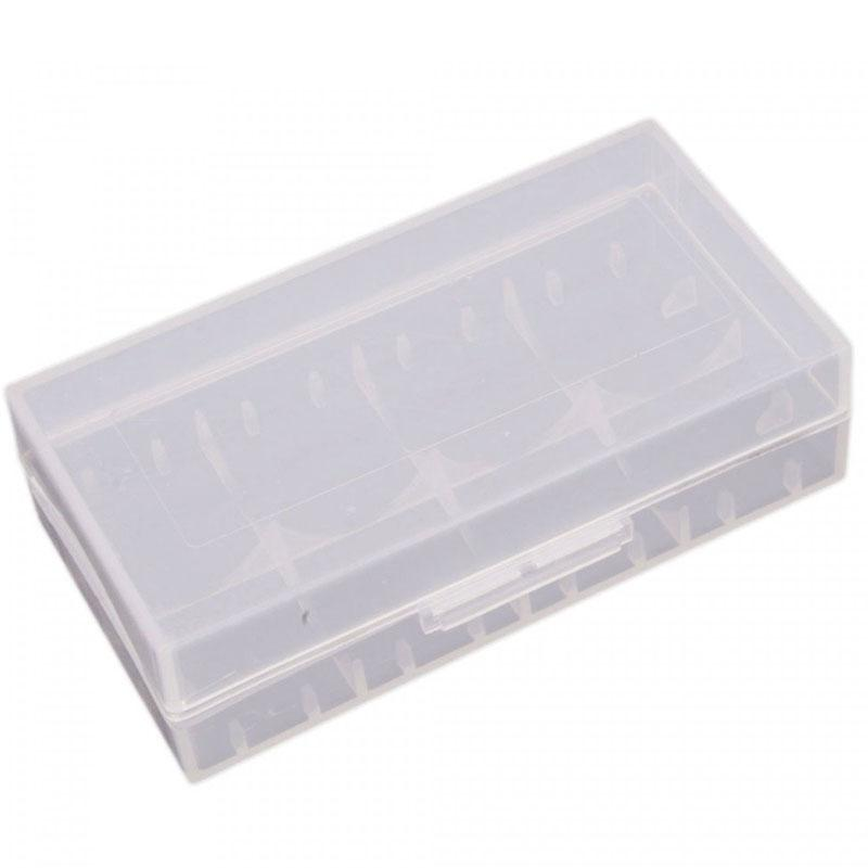 18650 Plastic Carry Case (Holds 2)