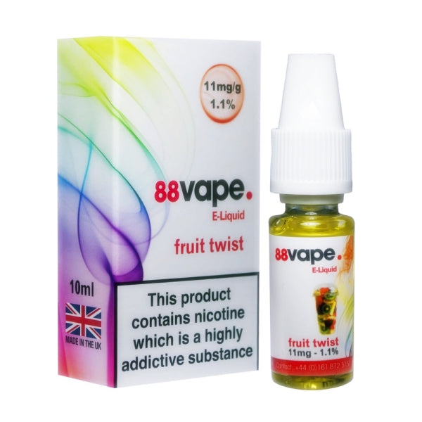 Fruit Twist E-Liquid by 88 Vape 10ml