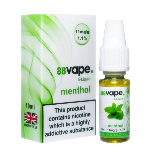 Menthol E-Liquid by 88 Vape 10ml