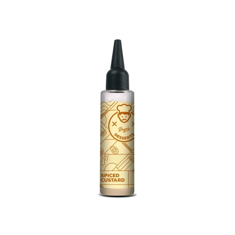 Spiced Custard by Bryn's Desserts - 50ml Short Fill E-Liquid