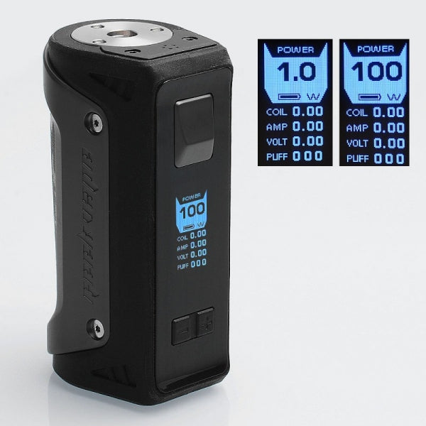 GeekVape Aegis 100W TC BOX MOD Single 18650 / 26650 - Gunmetal