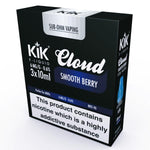 Smooth Berry E-Liquid by KiK - 3 x 10ml - Multipack