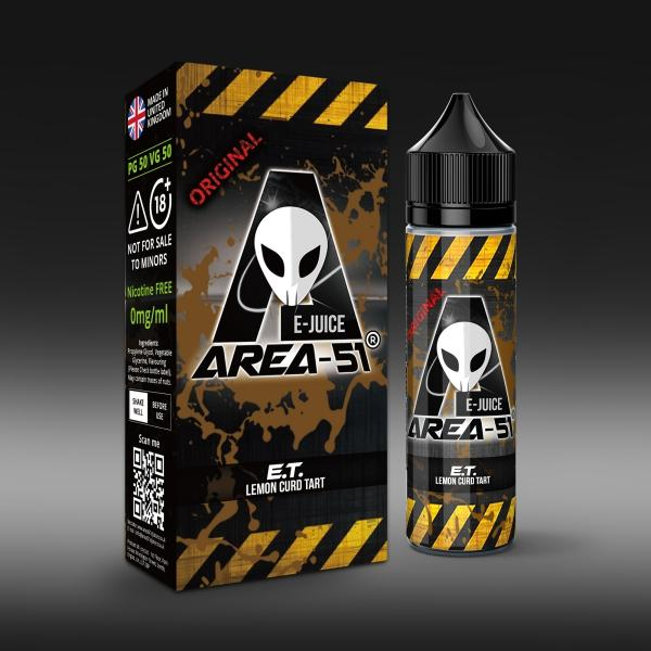E.T. by Area-51 E-Juice - 50ml Short Fill E-Liquid