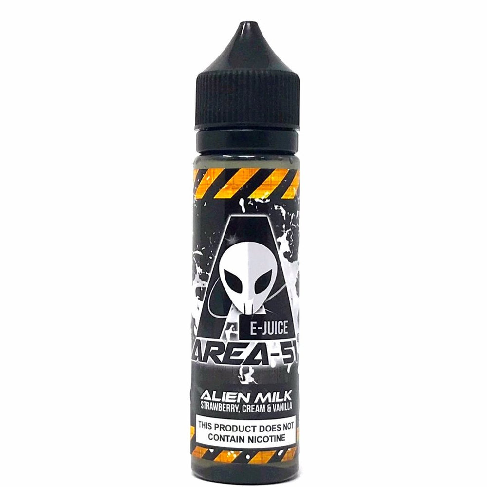 Alien Milk 50ml 0mg E-Liquid by Area-51