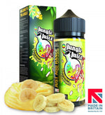 Banana Custard by Jungle Juice 100ml Short Fill E-Liquid