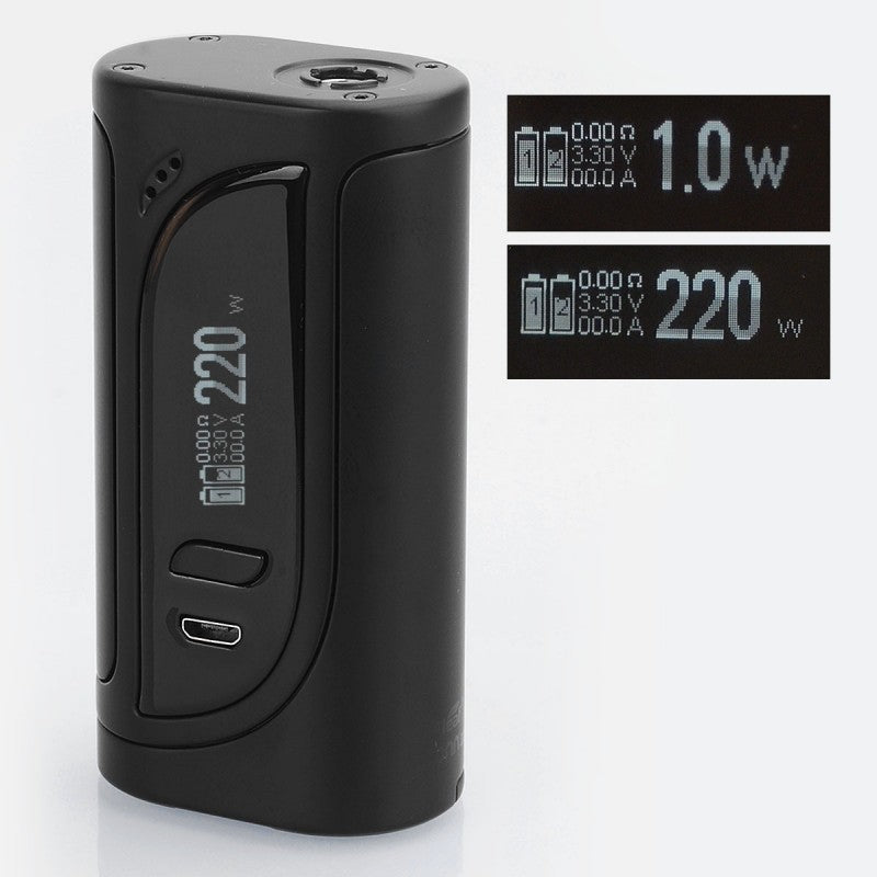 Eleaf iKonn 220 TC BOX MOD 220W Dual 18650 - BLACK