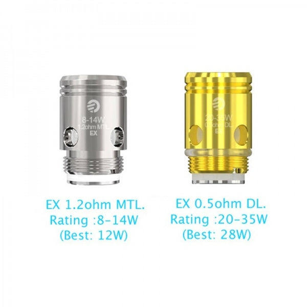 Joyetech EX Coils | 0.5Ω | 1.2Ω | for EXCEED - Pack of 5 Coils