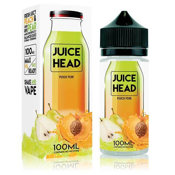 Peach Pear by Juice Head - 100ml Short Fill E-Liquid