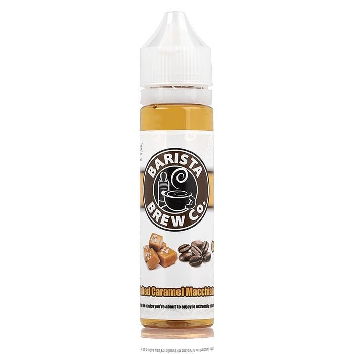 Salted Caramel Macchiato by Barista Brew Co 50ml Short Fill E-Liquid