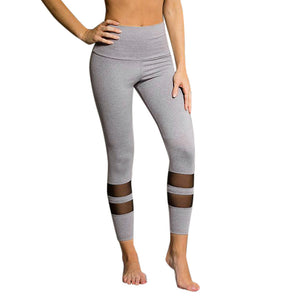 Basic Black High Waist Sports Leggings
