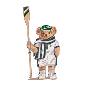 Dartmouth Crew Bear - Sticker