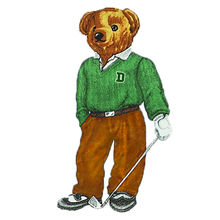 Load image into Gallery viewer, Dartmouth Golf Bear - Sticker
