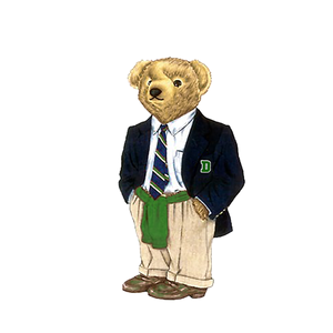 Dartmouth Legacy Bear - Sticker