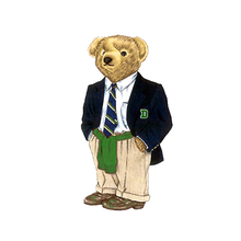 Load image into Gallery viewer, Dartmouth Legacy Bear - Sticker