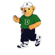 Load image into Gallery viewer, Dartmouth Running Bear - Sticker