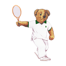 Load image into Gallery viewer, Dartmouth Tennis Bear - Sticker