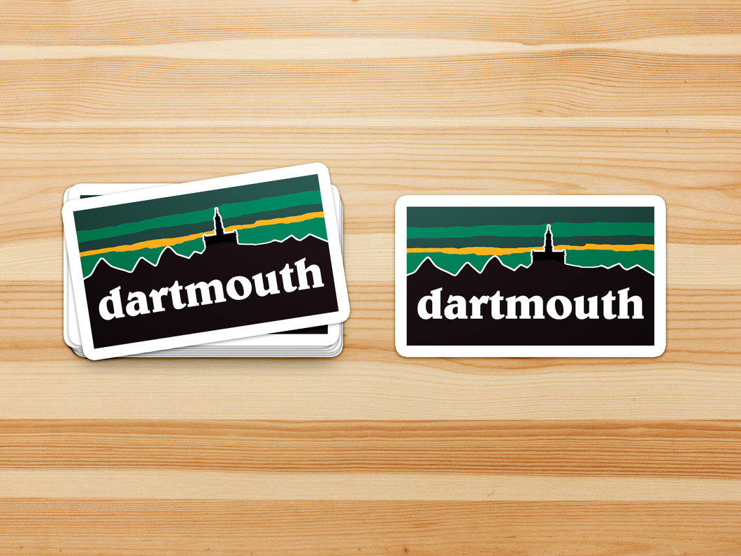 Dartmouth Patagucci Classic - Sticker