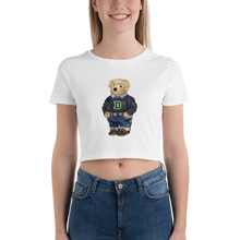 Load image into Gallery viewer, Dartmouth Generic Polo Bear - Women's Crop Top