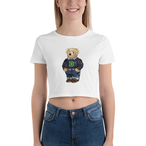 Dartmouth Generic Polo Bear - Women's Crop Top