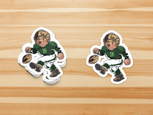 Dartmouth Football Bear - Sticker