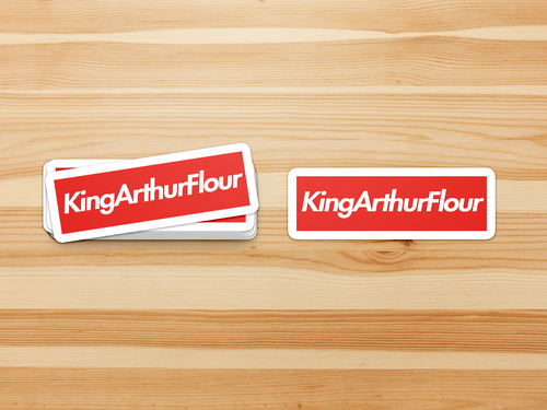 KAF King Arthur Flour Supreme - Stickers