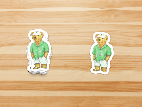 Dartmouth 19S Bear - Sticker