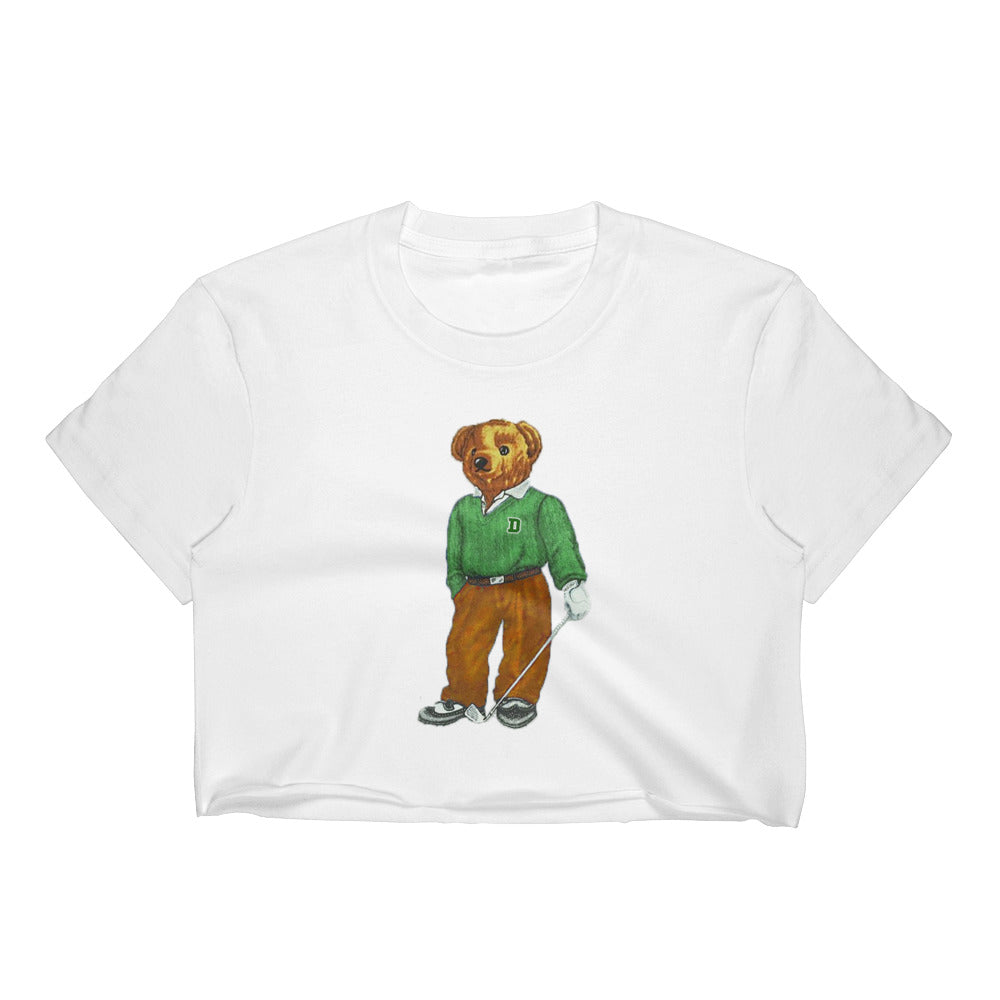 Dartmouth Golf Bear - Crop Top