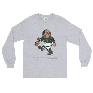 Dartmouth Football Polo Bear - Long Sleeve T-Shirt