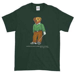 Dartmouth Golf Bear - T-Shirt