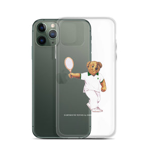 Dartmouth Tennis Polo Bear - iPhone Case (Various Sizes)