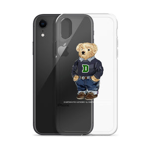 Dartmouth Generic Polo Bear - iPhone Case (6, 7, 8, X, XS, XR, (Plus))