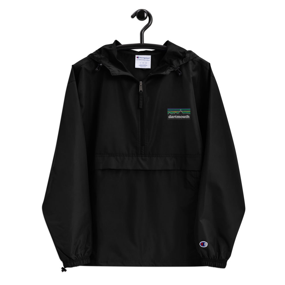 Dartmouth Patagucci - Embroidered Champion Packable Jacket