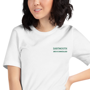 Dartmouth Embroidered 20S - T-Shirt