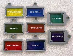 X-Men Character Light Bracket Set