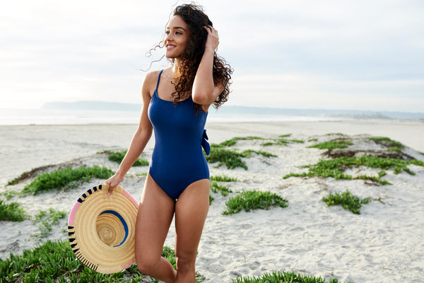 how to rock a one piece swimsuit