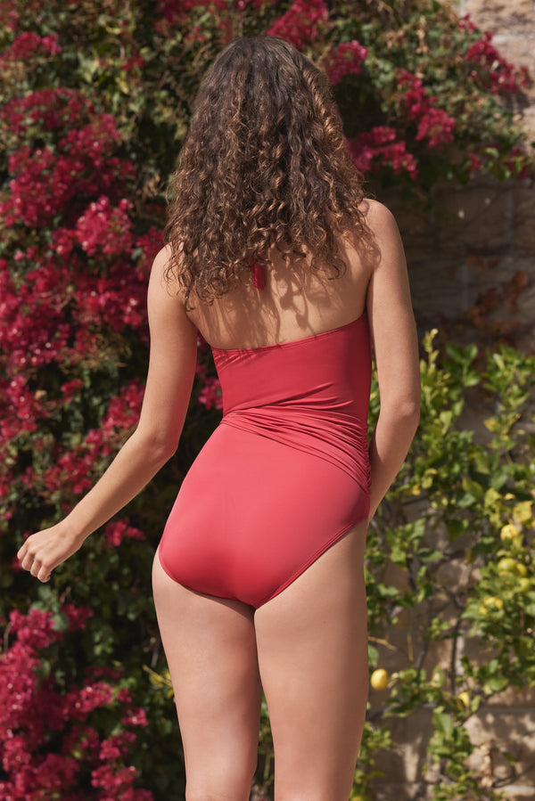 Genevieve One-piece Swimsuit in Red