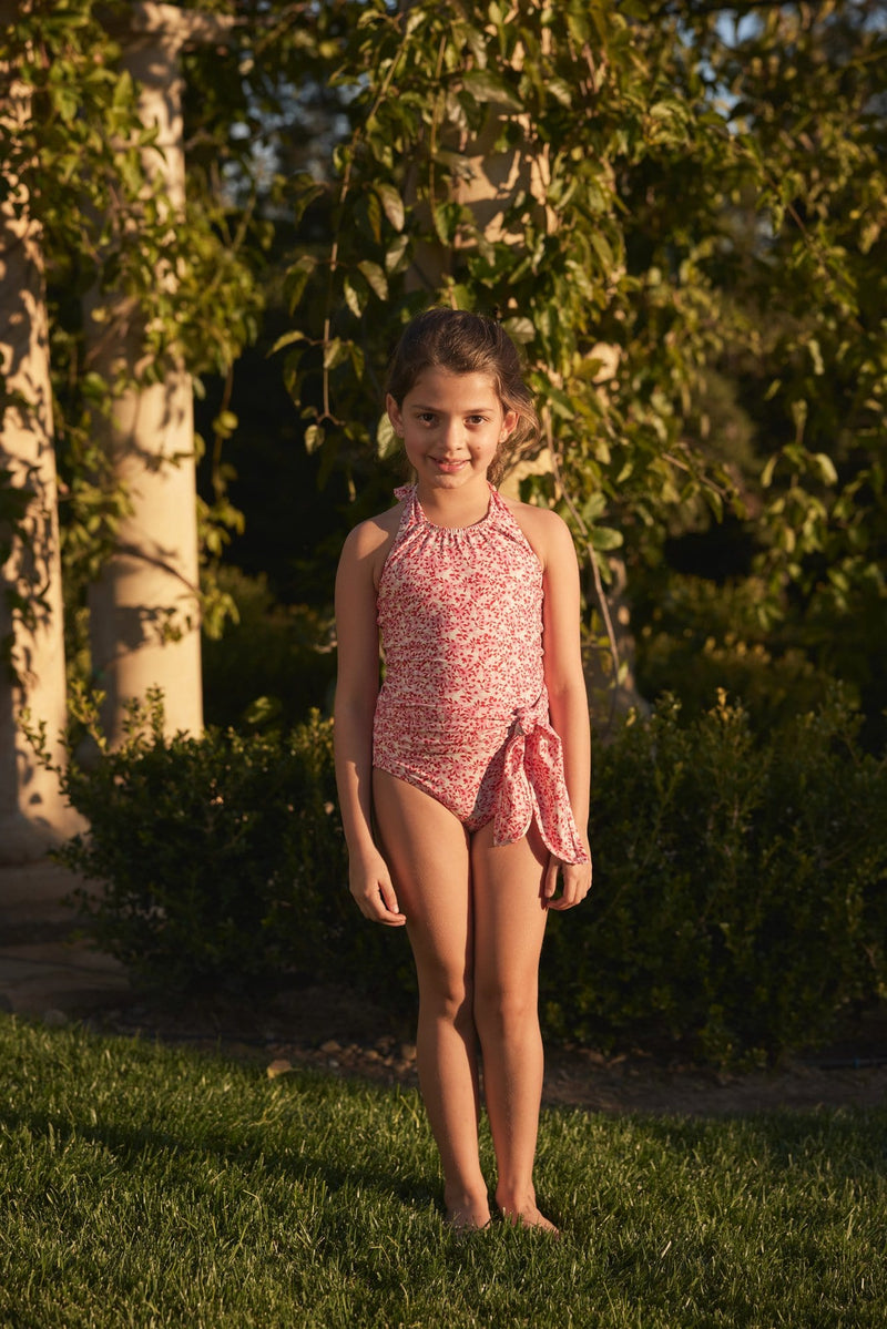 Little Genevieve One-piece Swimsuit in Ditsy