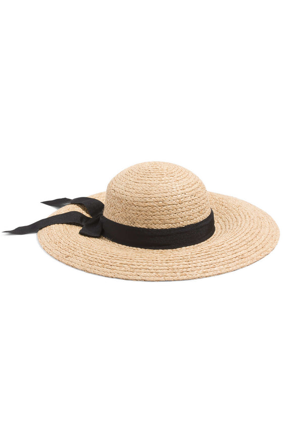 Hermoza Sun Straw Hat with Bow