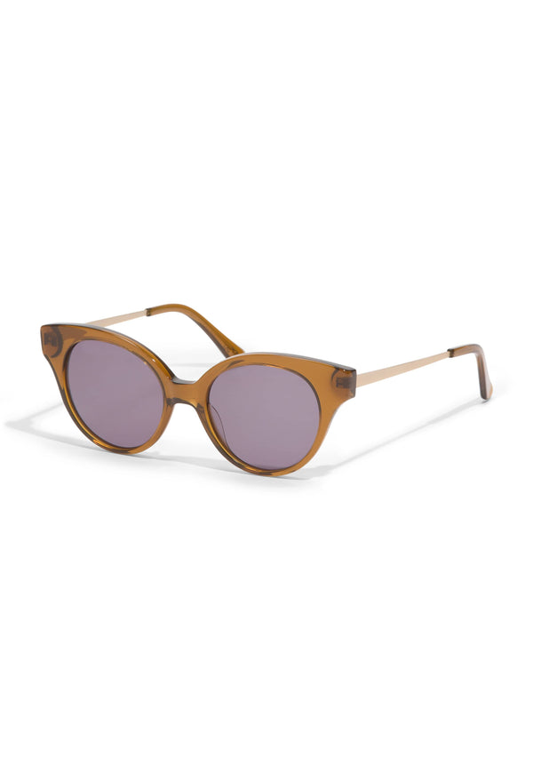 Hermoza Sunglasses in Brown