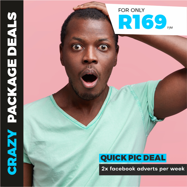 Quick pic deal - Facebook adverts