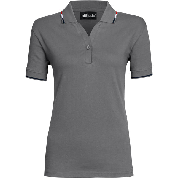 Ladies Ash Golf Shirt