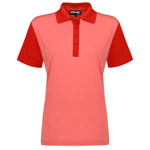Ladies Crossfire Mélange Golf Shirt