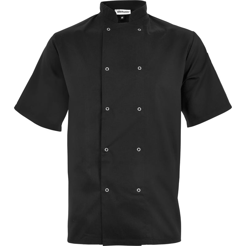 Unisex Short Sleeve Zest Chef Jacket