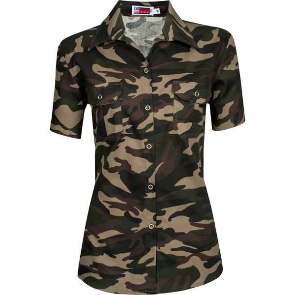 Ladies Short Sleeve Wildstone Shirt