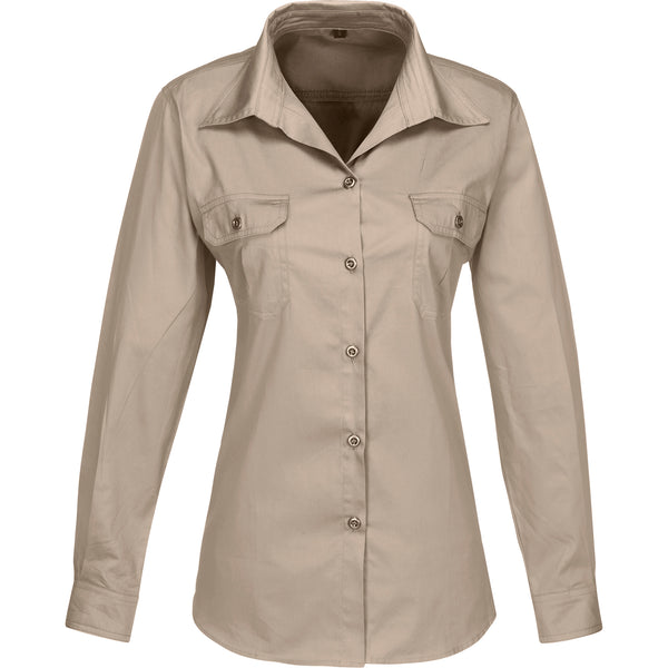 Ladies Long Sleeve Wildstone Shirt
